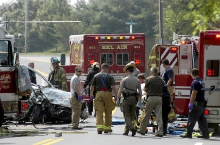 A 28-year-old woman pleaded guilty to vehicular manslaughter last week in connection with a July 21, 2011, accident on Route 543 near Bel Air that killed a 64-year-old Bel Air woman.